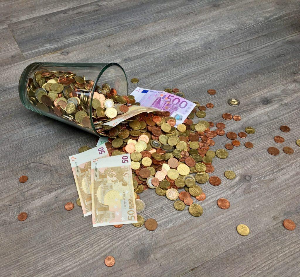 Geld und BR