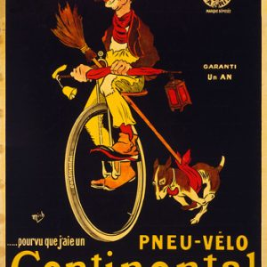 Historische Werbetafel von Continental