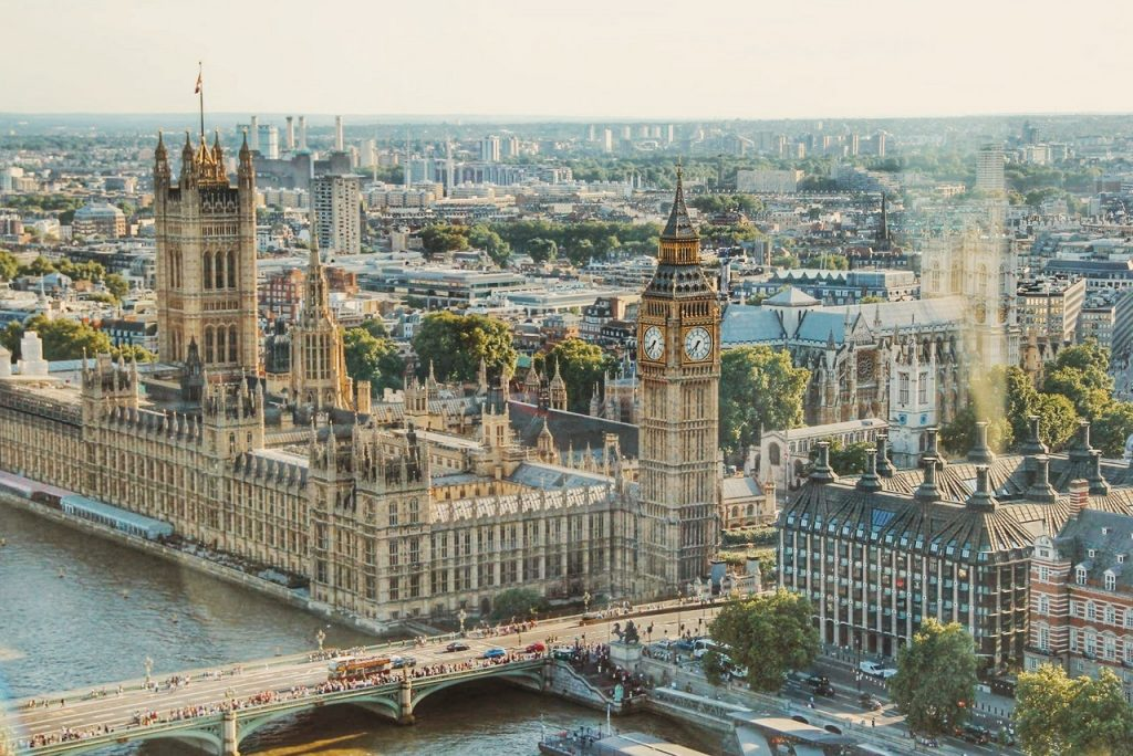 Auslandsentsendung nach London