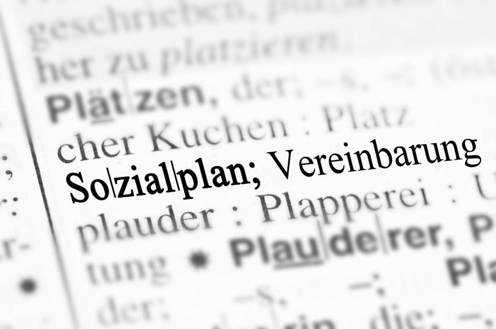 Sozialplan (Duden)