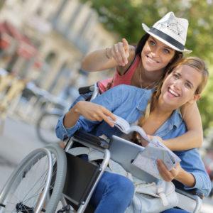 Sonderurlaub für Menschen mit Handicap