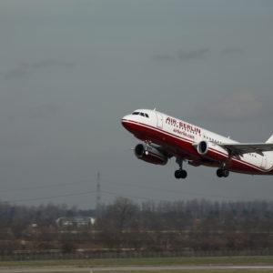 Flugzeug von Air Berlin