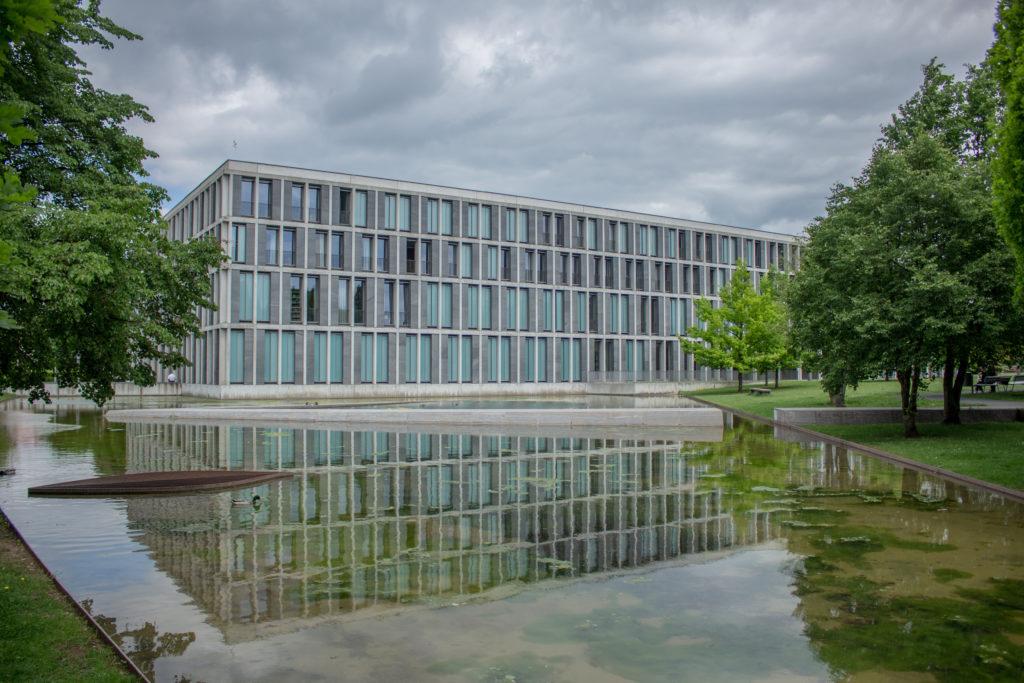 Gebäude des BAG in Erfurt