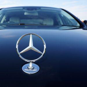 Fahrzeug von Mercedes