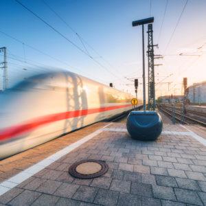 Schnellzug der DB