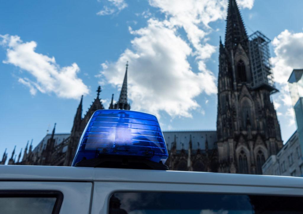 Bundespolizei am Hauptbahnhof in Köln