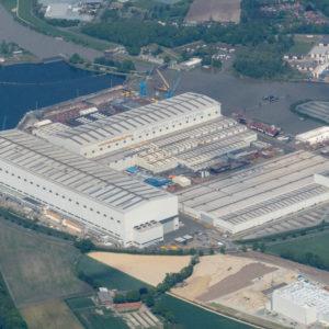 Meyer-Werft in Papenburg.