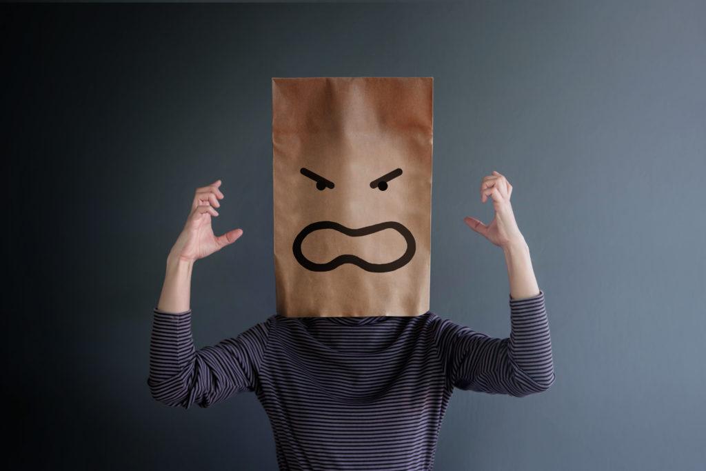 Wütende Arbeitnehmerin (Symbolbild).