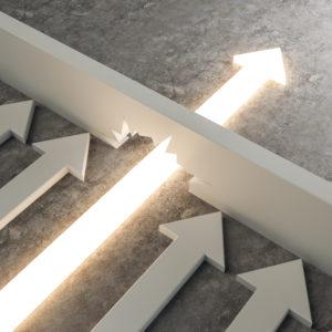 Grenze durchbrochen (Symbolbild).